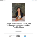PNCA Events with Paksy Plackis Cheng