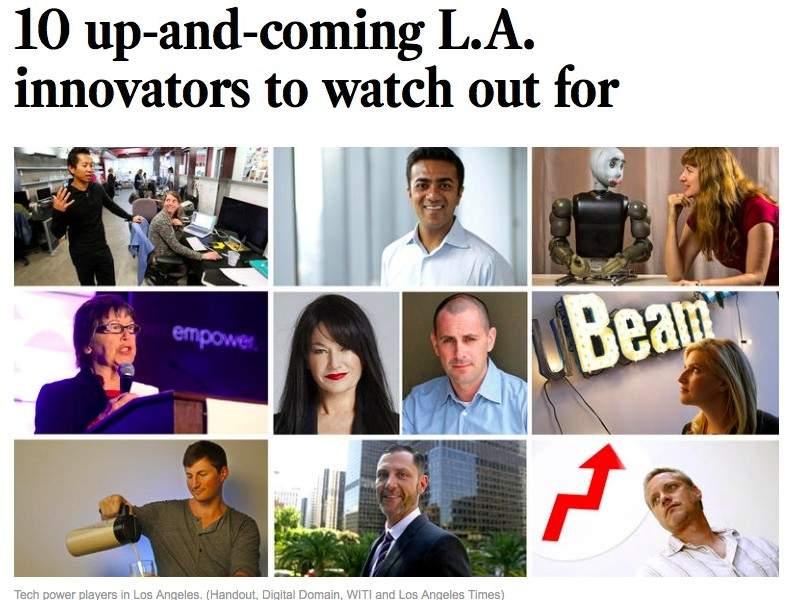 LA Times Top 10 Innovators