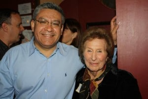 Salud Carbajal and Naomi Schwartz