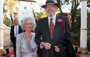 Betty and Stan Hatch at a Direct Relief fundraiser. © Melissa Walker