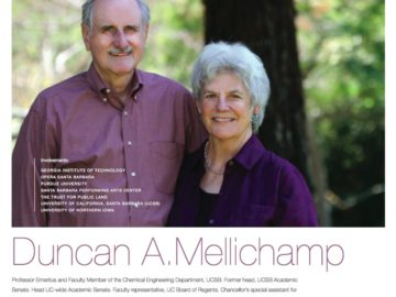 Duncan and Suzanne Mellichamp Pulled Up 13 Chairs