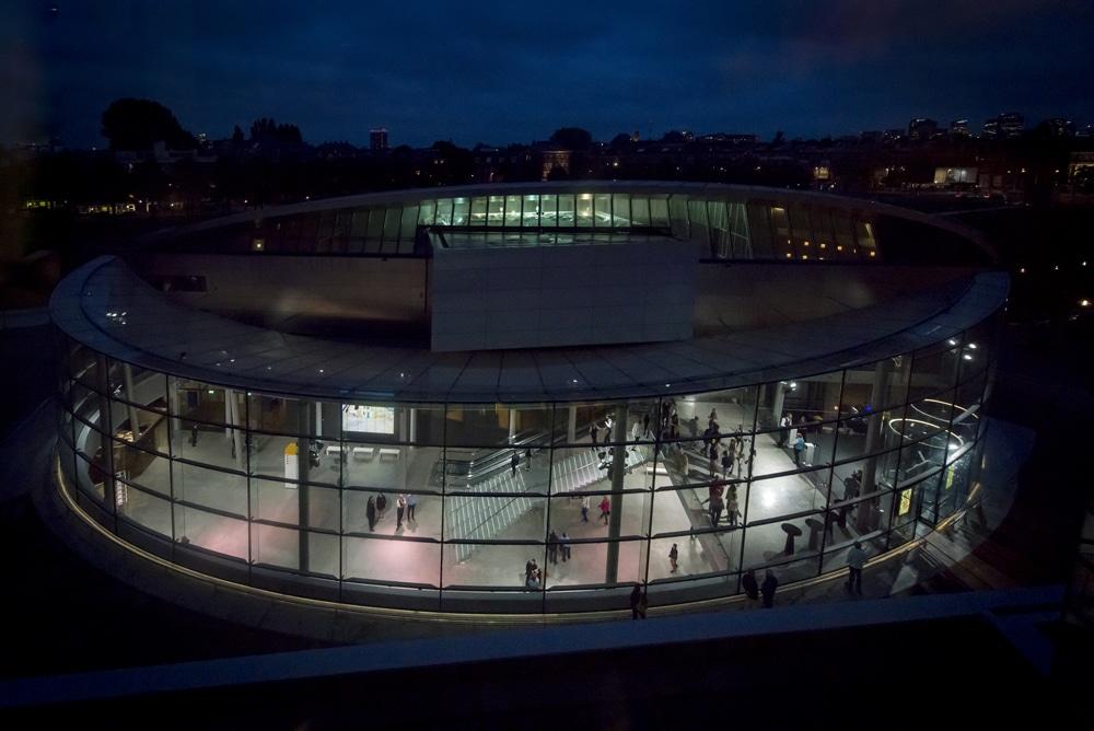 Van Gogh Museum's New Entry. Photo: Jan-Kees Steenman.