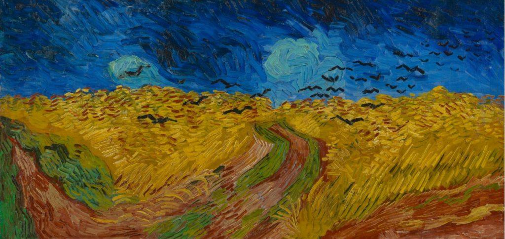 Wheatfield with Crows Auvers-sur-Oise, July 1890 Vincent van Gogh (1853 - 1890) oil on canvas, 50.5 cm x 103 cm Van Gogh Museum, Amsterdam (Vincent van Gogh Foundation).