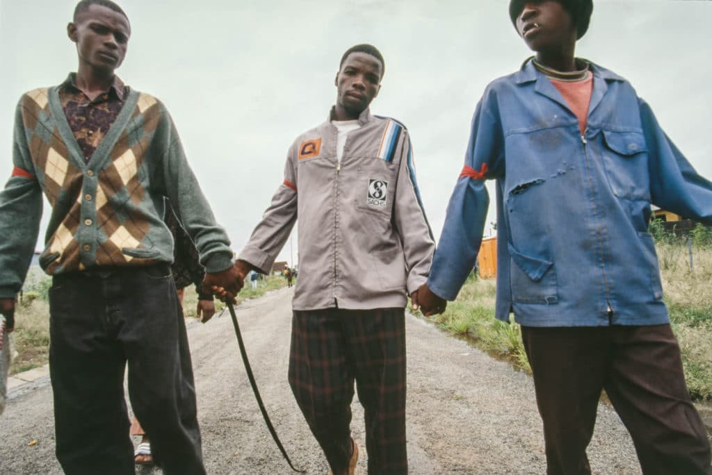 Documentary photographer, Colin Finlay, witnesses history in South Africa.