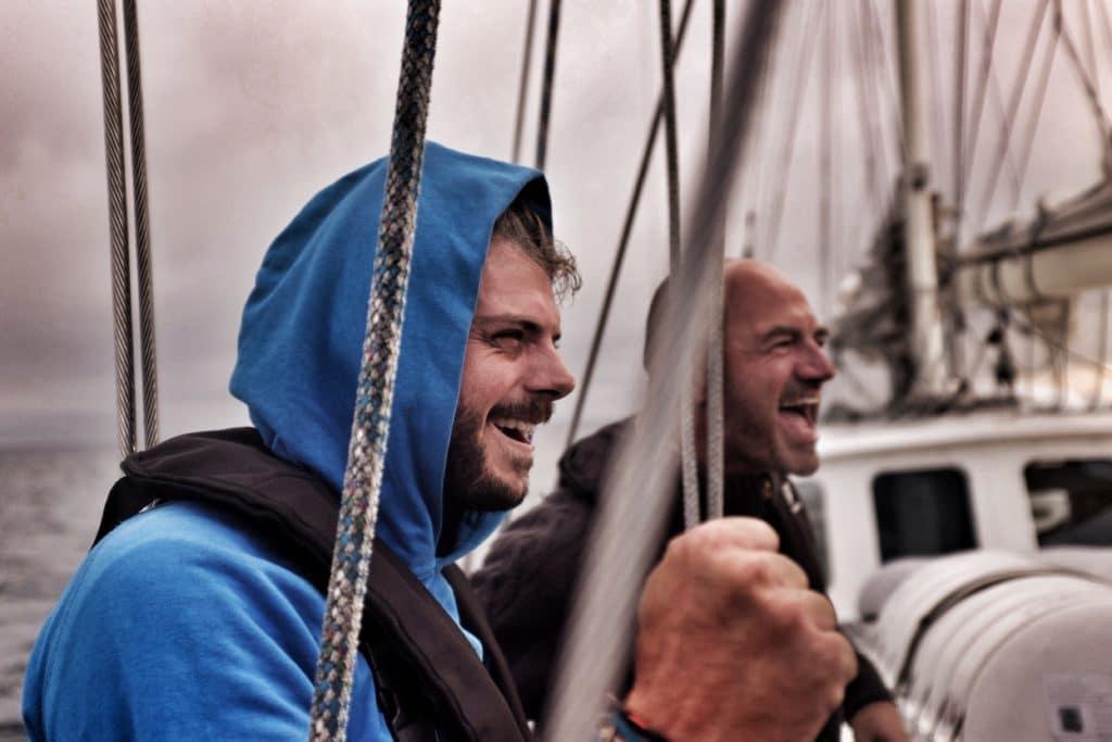 By the Ocean we Unite's founder Thomas van Thiel