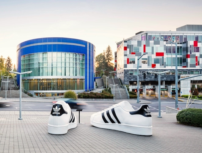 adidas village in Portland, Oregon