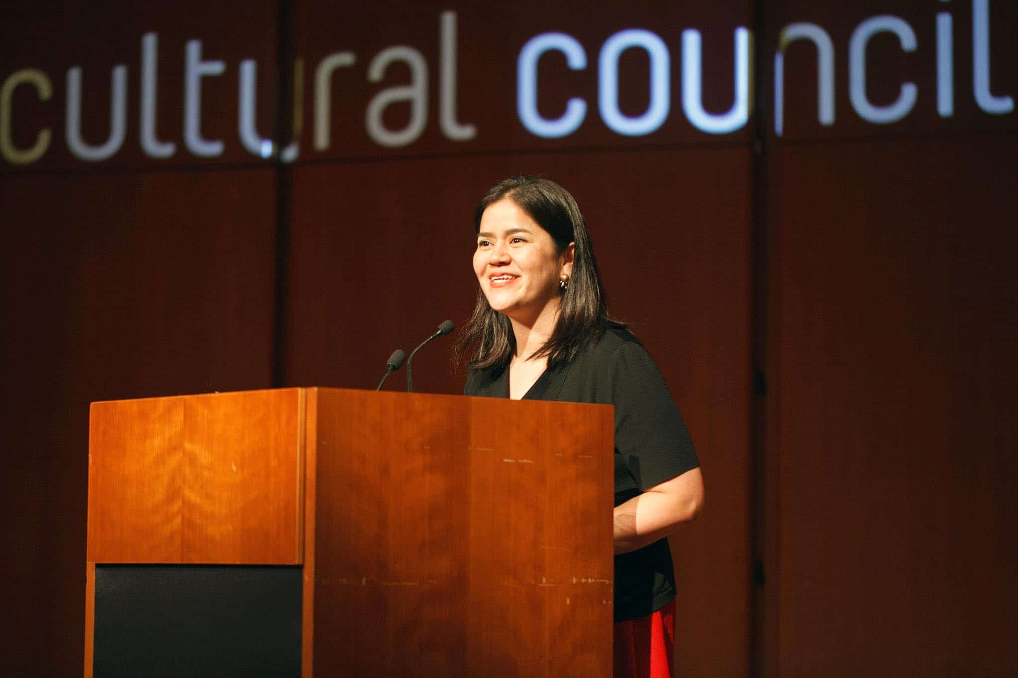 Miho Walsh, ACC's Executive Director. Photo by James Ware Billett.