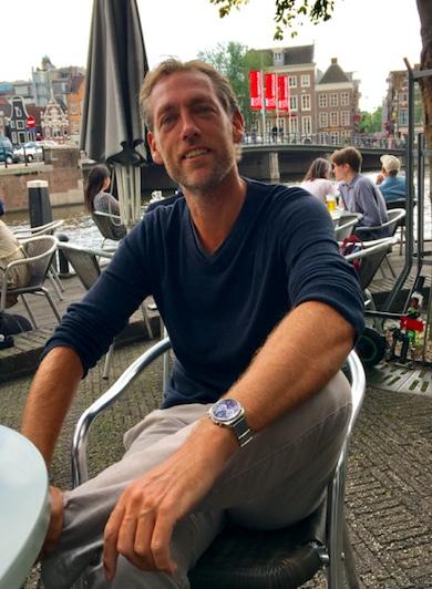 Reinier Evers, founder of Trendwatching, in Amsterdam, the Netherlands. Photo: impactmania.