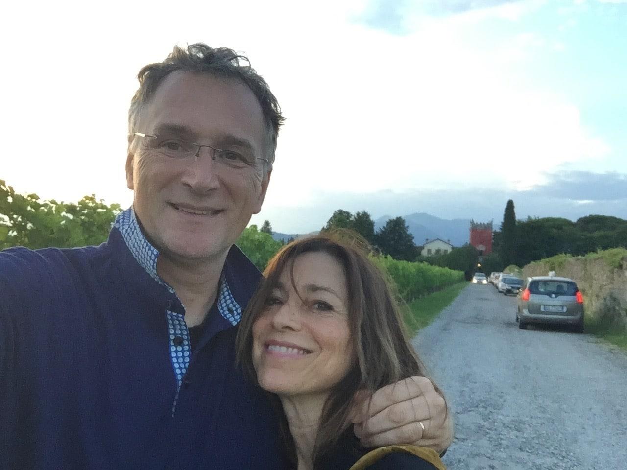 Mauro and Paola Ferrari, co-founders of L'Accademia di Gagliato delle NanoScienze.