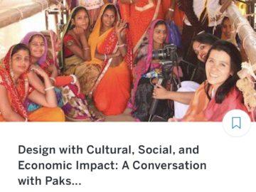Dec 6. impactmania's founder in Portland: Design w/ Cultural, Social, and Economic Impact