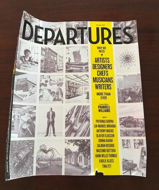 AmEx's Departure Magazine