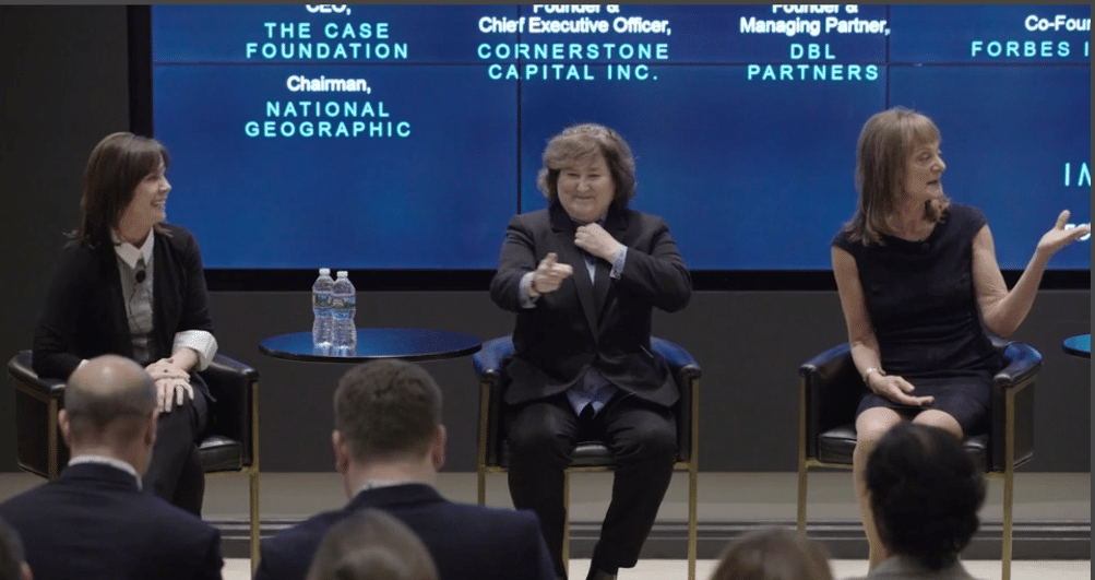 Erika Karp at Forbes. Karp speaks at events including those of the OECD, the UN Global Compact, The Forum for Sustainable and Responsible Investing, and the White House.
