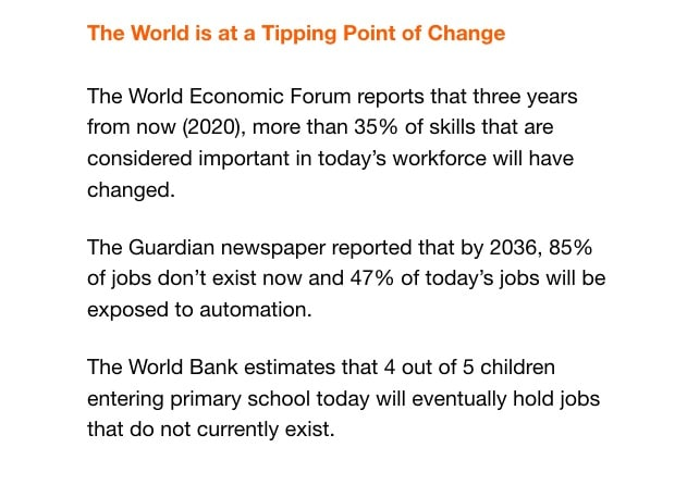 World at a Tipping Point