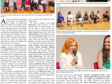 Montecito Journal covers WoI event