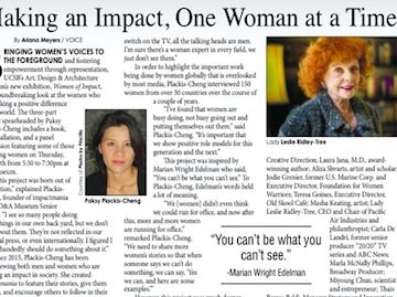 The Voice Magazine Covers Women of Impact